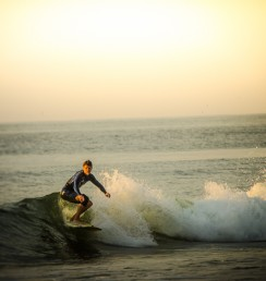 Surfers of Ocean City Maryland