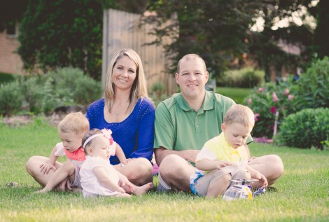 Family photography by Joel Echelberger in Green Ohio