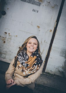 high school senior girl akron photographer