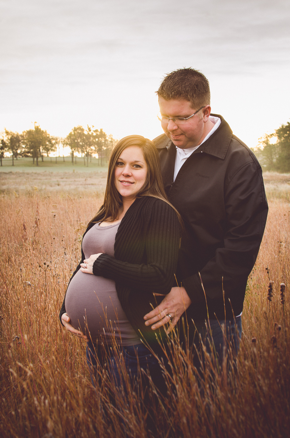maternity session outdoors canal fylotn photographer