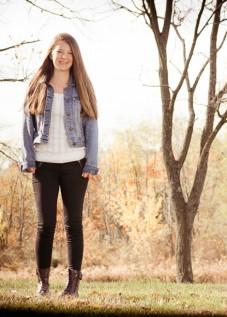 Danielle High School senior photo shoot Akron, Ohio Photographer - Joel Echelberger