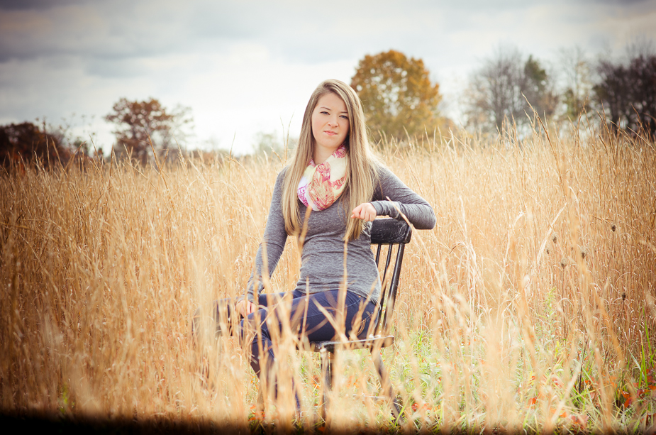 Danielle High School senior photo shoot Akron, Ohio Photographer - Joel Echelberger