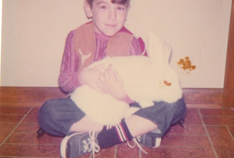 I had a bunny