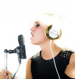 Lydia CAD Audio headphones Joel Echelberger Photography